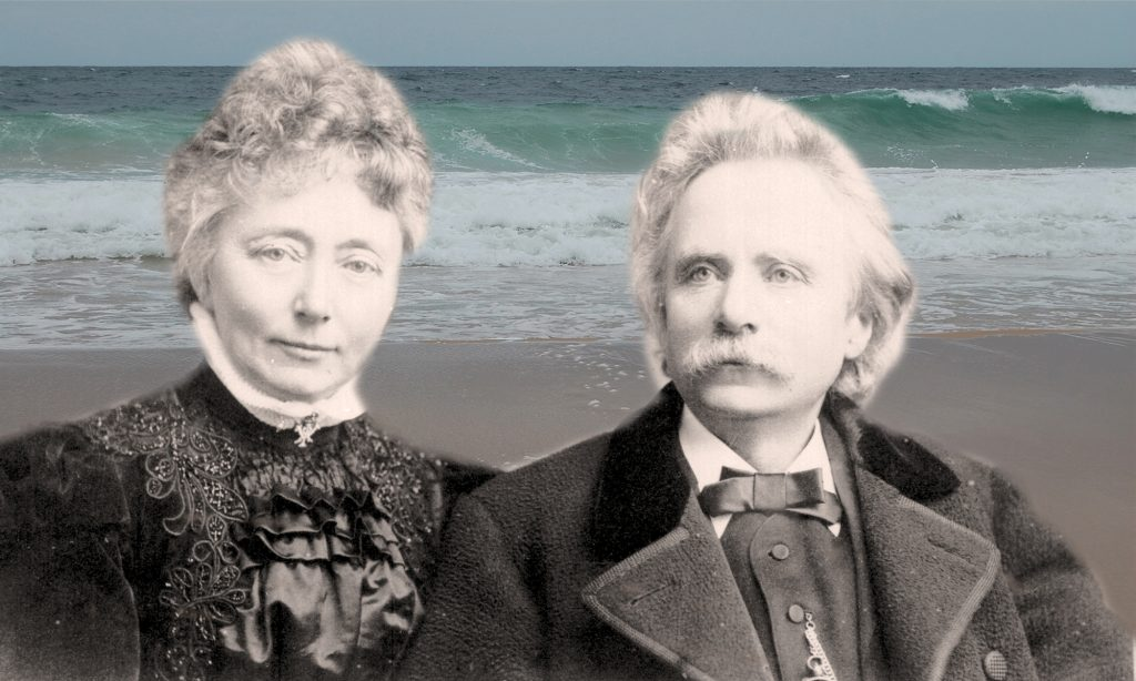 Welcome spirits on Scottish shores (Edvard & Nina Grieg)