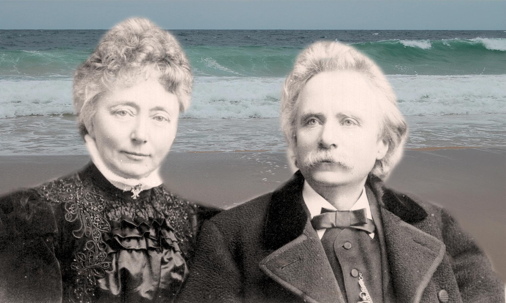 Welcome spirits on Scottish shores (Edvard & Nina Grieg)