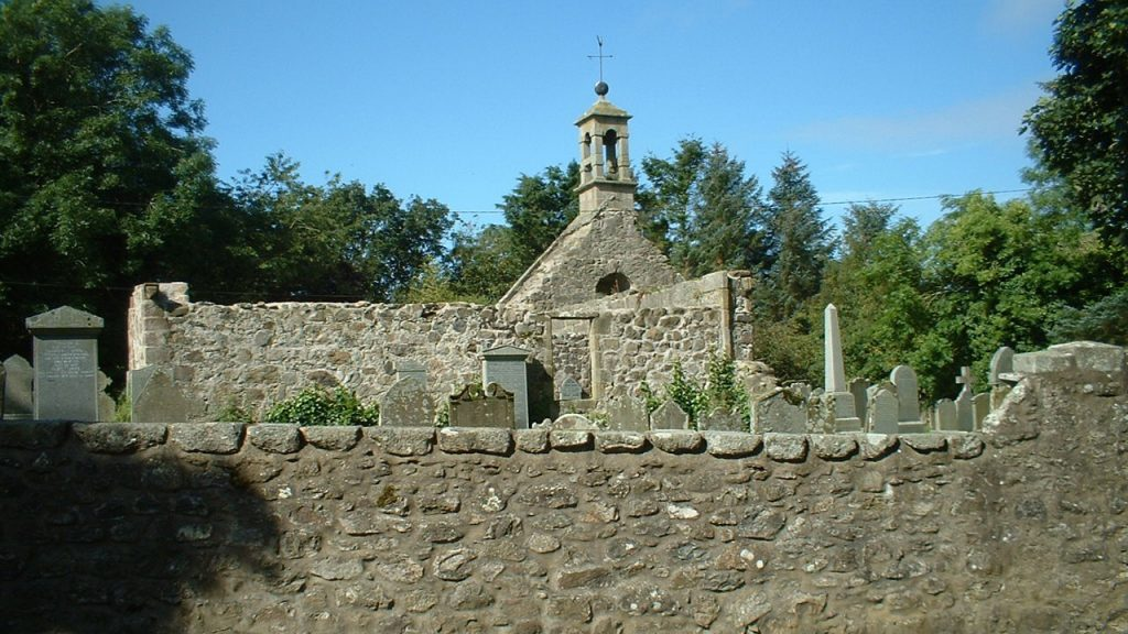 St Ethernan's or Rathen Old Parish Kirk