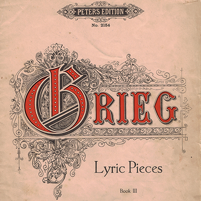CF Peters publish Grieg