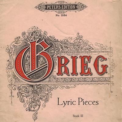 CF Peters publish Grieg