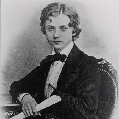 Edvard Grieg age 19