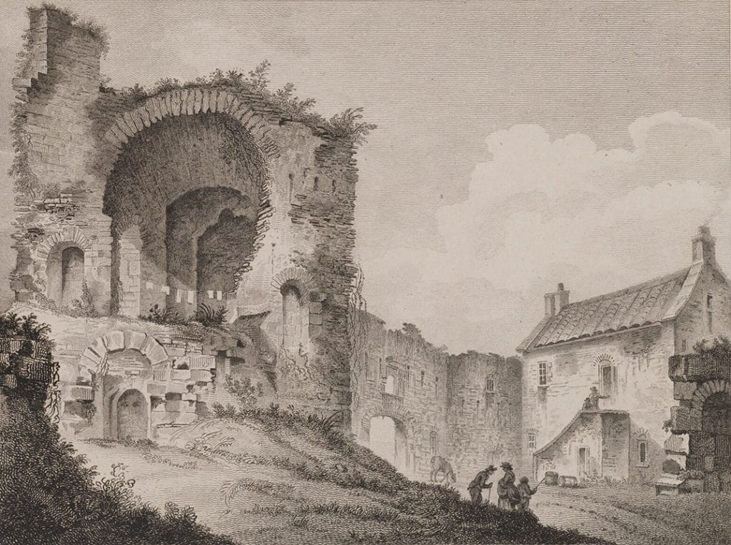 Pitsligo Castle (from Scotia Depicta 1804)