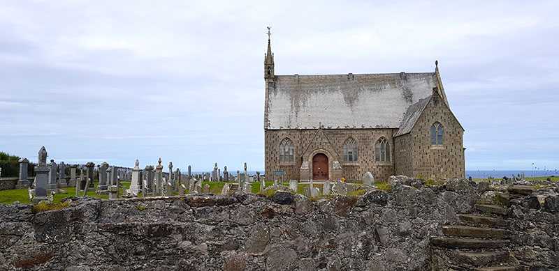 Nineteenth century Parish Kirk at Pitsligo